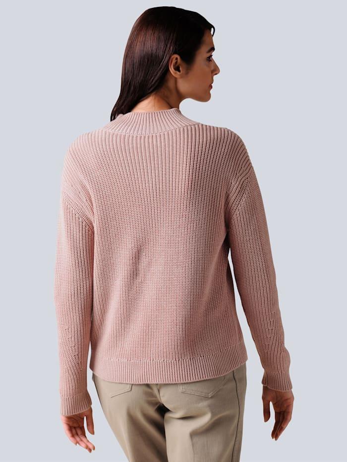 Pullover in schönem Patentstrick