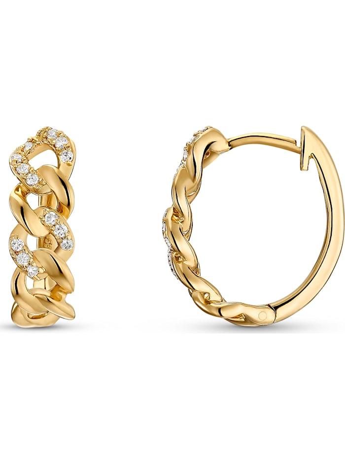 CHRIST Diamonds Damen-Ohrstecker 585er Gelbgold 26 Diamant