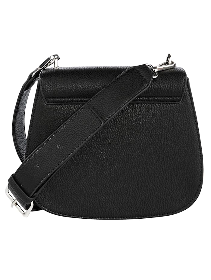 Shoulder bag made from a premium fabric
