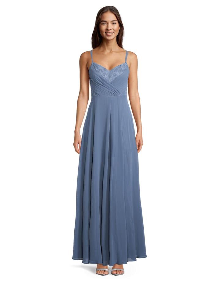 Vera Mont Abendkleid mit Spitze, Hushed Blue
