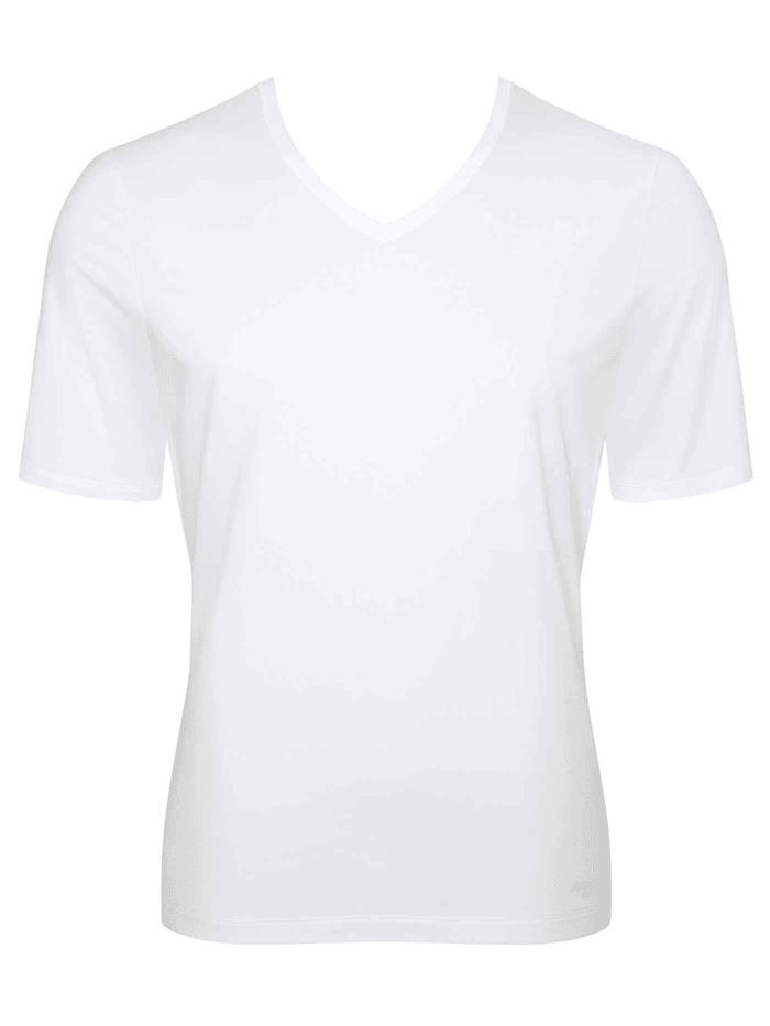 sloggi T-Shirt, V-Neck Ökotex zertifiziert, White