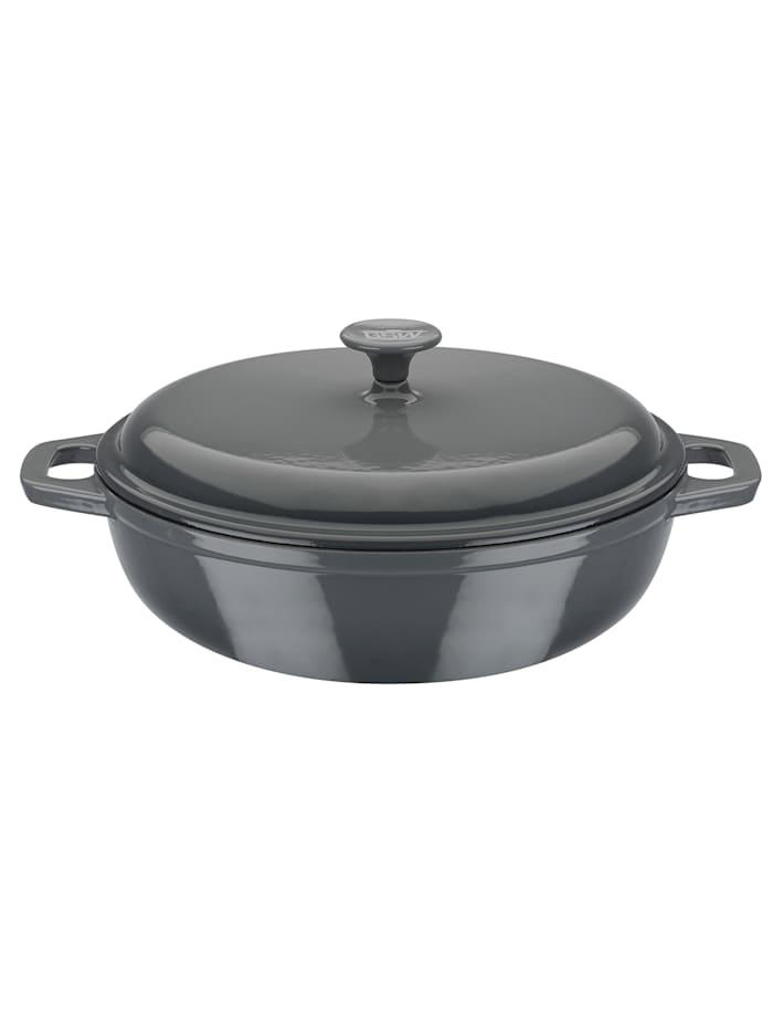 Gusseisen Schmortopf 30 cm Grey Shadow