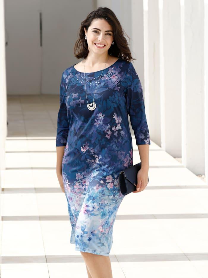 Kleid mit hübschem Blumendruck