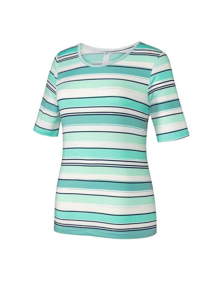 JOY sportswear T-Shirt HILKA, jade stripes