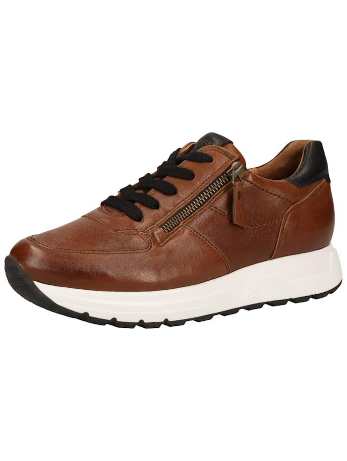 Paul Green Paul Green Sneaker, Braun/Schwarz