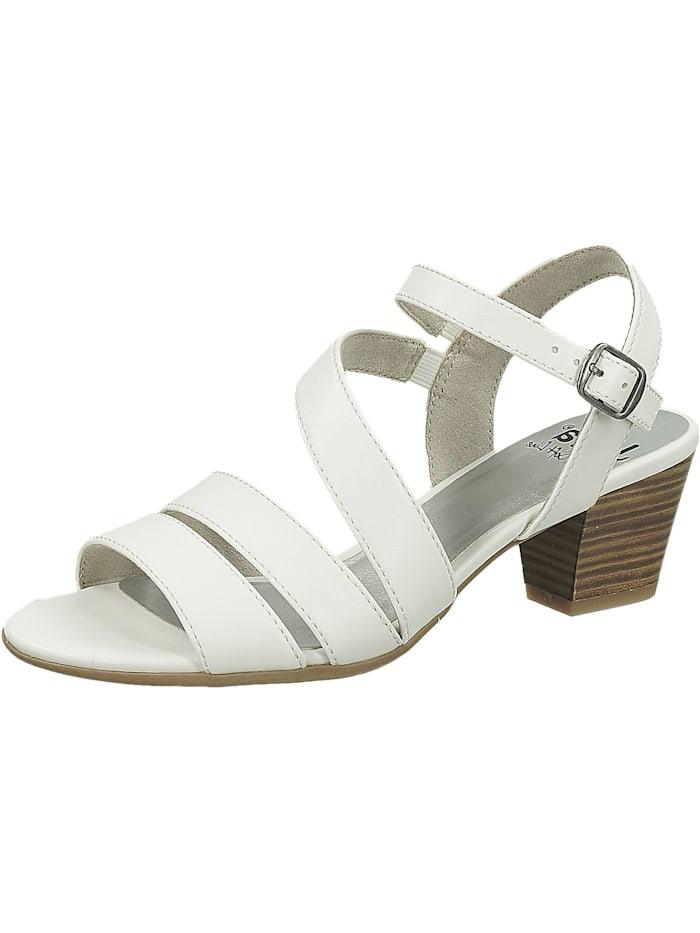Jana Klassische Sandaletten, weiß