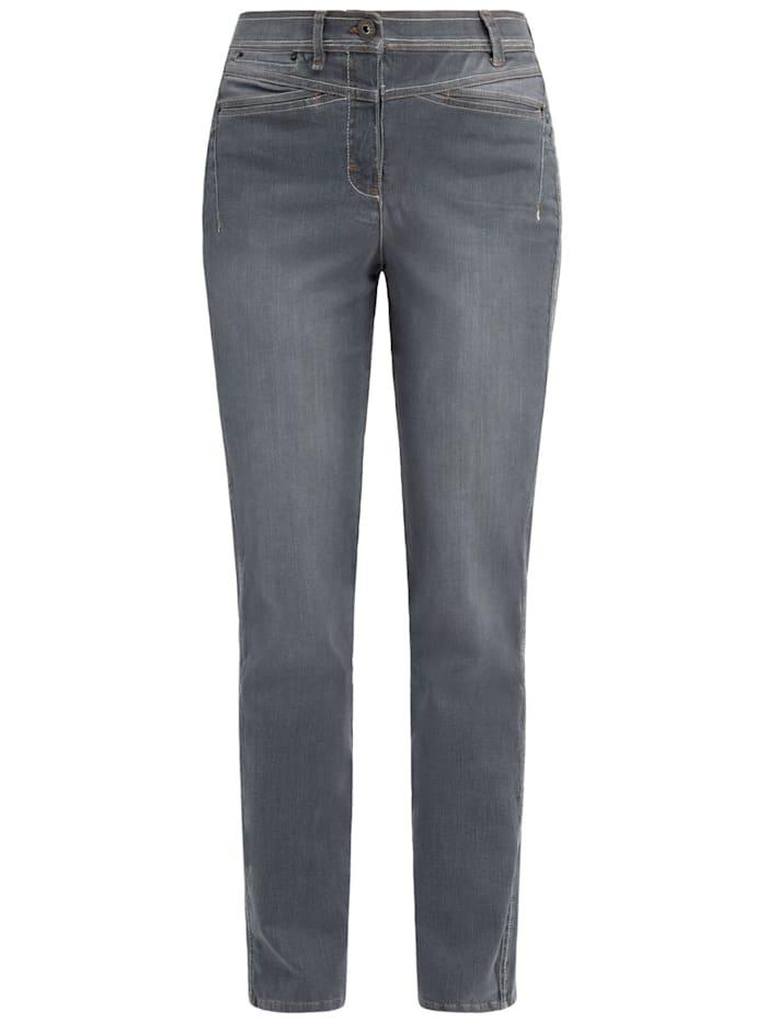 RECOVER Pants Jeans, Dunkelgrau