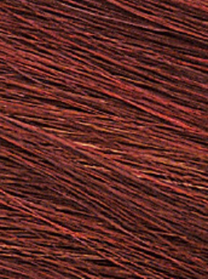 Lofty Perruque Jana, acajou/mèches rouge grenat