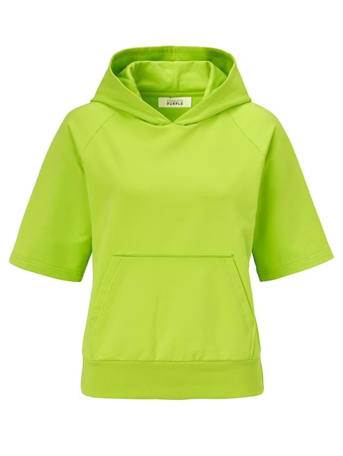 CONLEYS PURPLE Sweatshirt, Neongrün