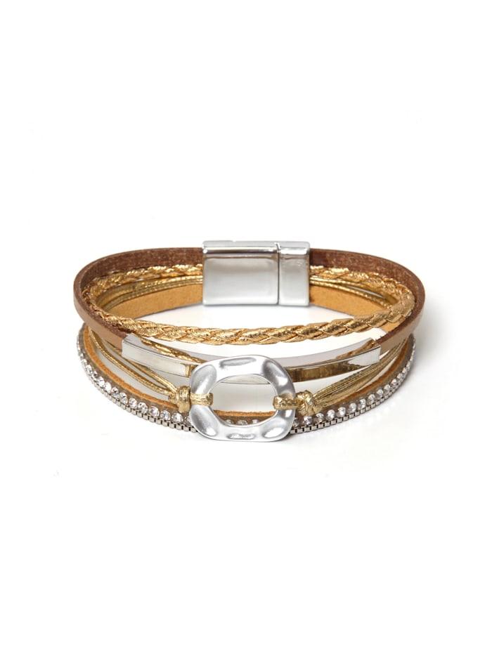 Collezione Alessandro Armband Riga, gold