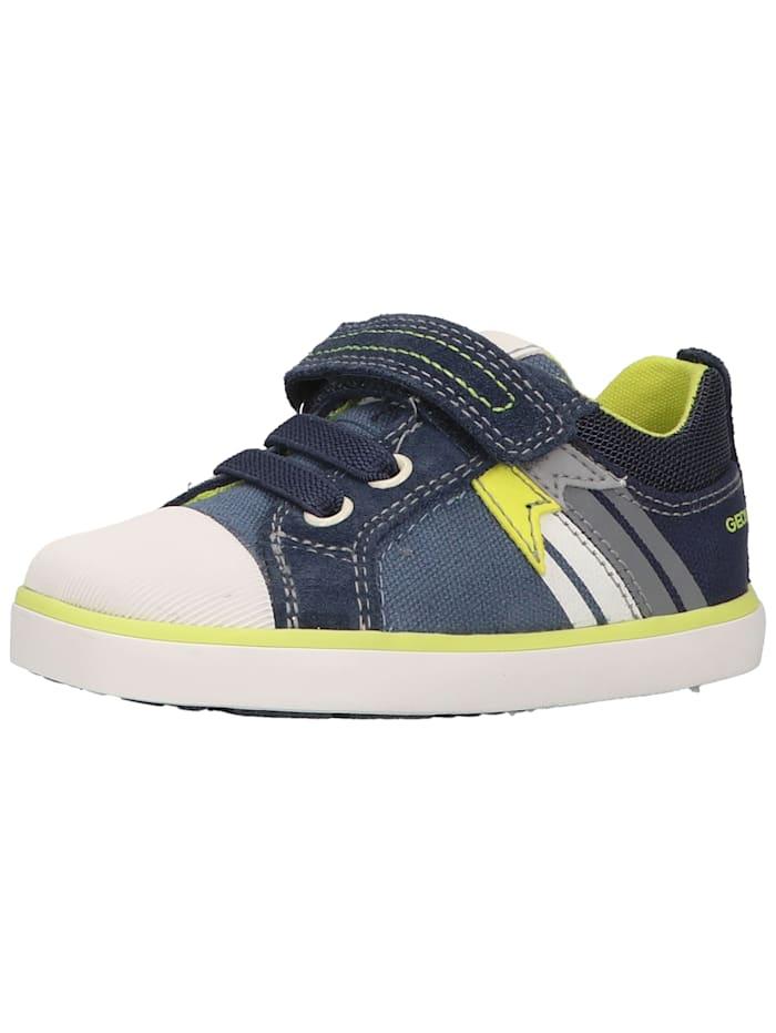 Geox Geox Sneaker, Blau/Gelb