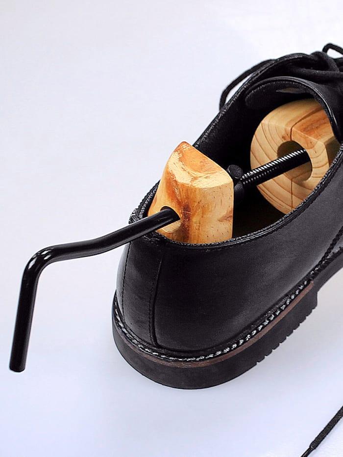 Houten schoenoprekkers 2 stuks
