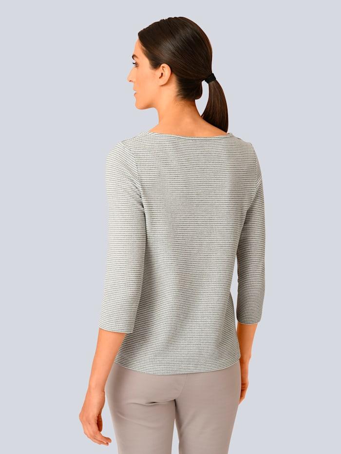 Shirt in schön strukturierter Ware