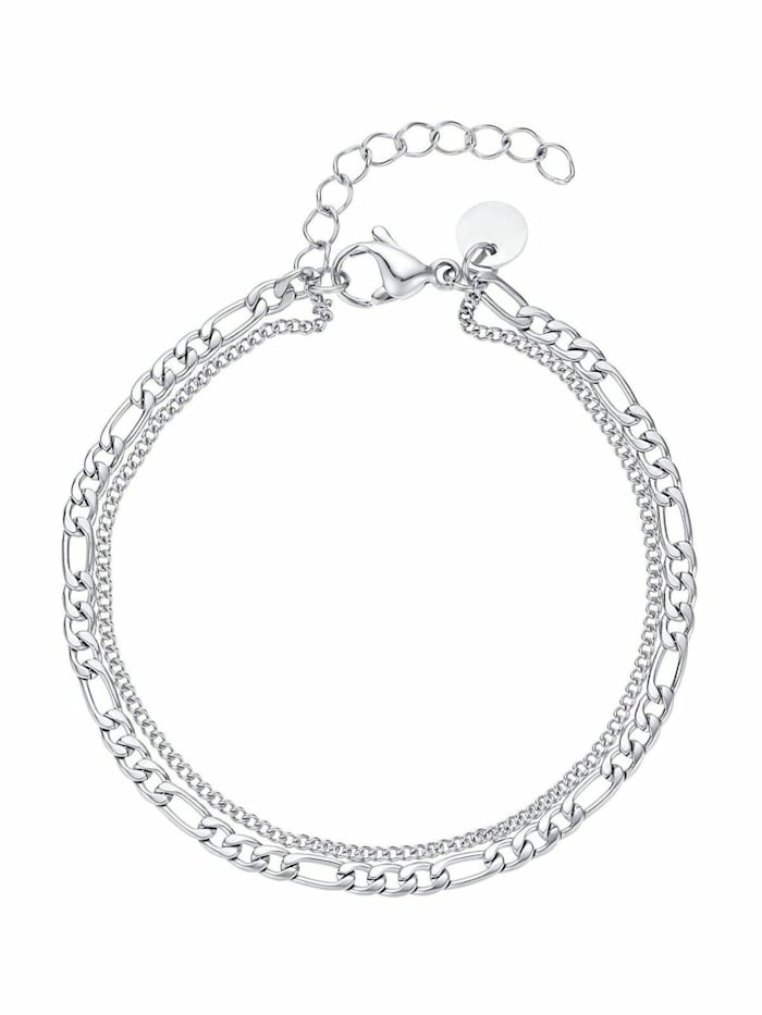 Noelani Armband für Damen, Edelstahl, Silber