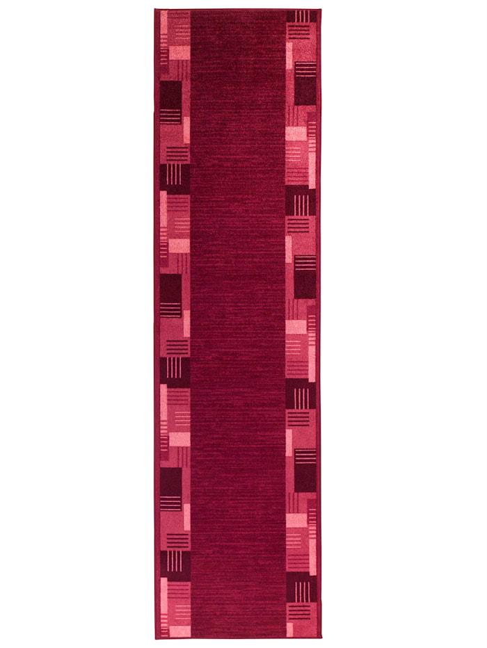 Floordirekt Läufer und Stufenmatten Murano, Rot