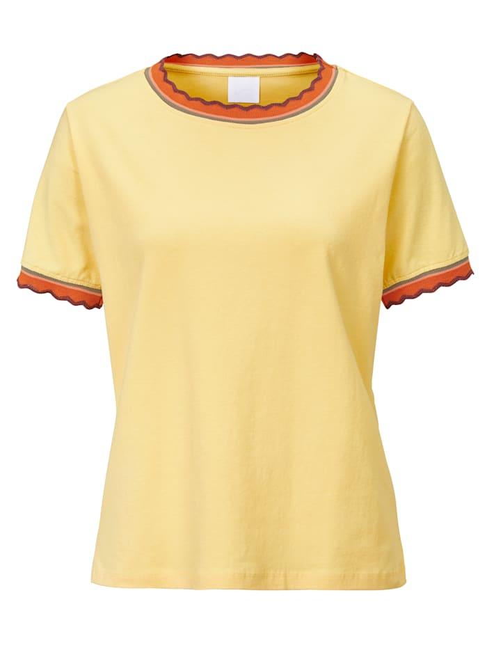 REKEN MAAR Shirt, Hellgelb