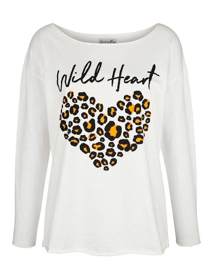 Shirt met trendy dessin