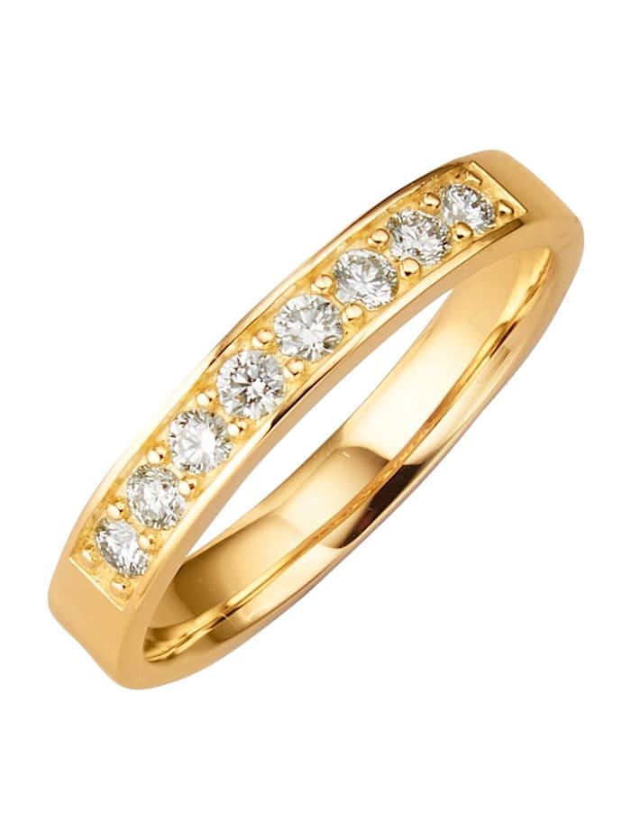 Diemer Diamant Memoirering mit lupenreinen Brillanten, Weiß