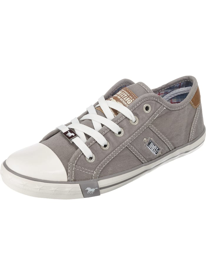 Mustang Sneakers Low, silber