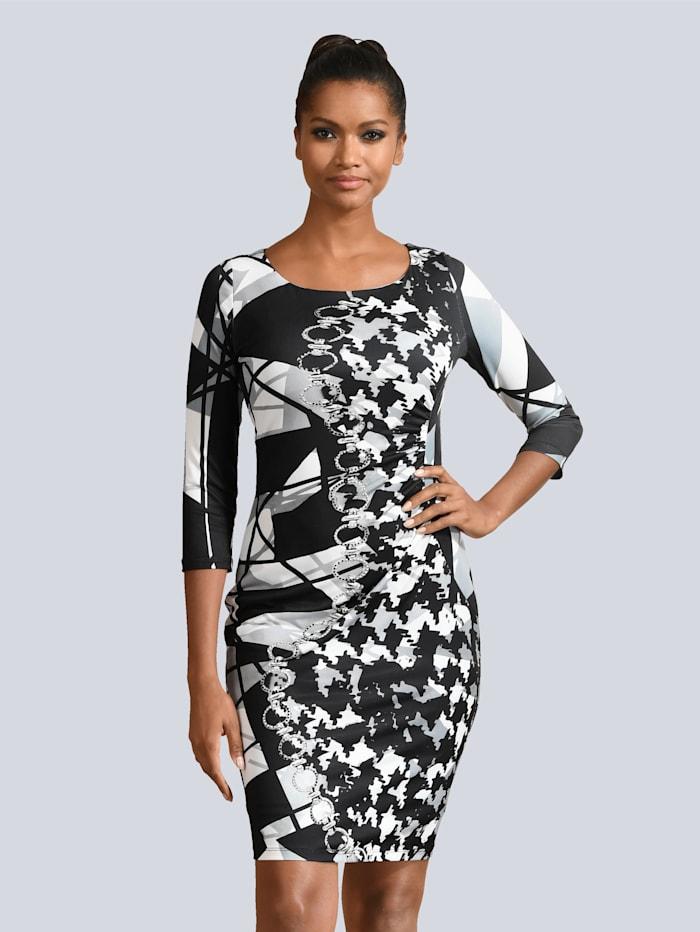 Kleid mit femininem Druckdessin
