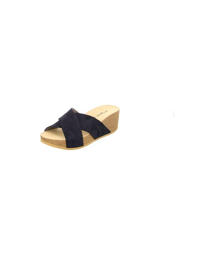 Paul Green Pantoletten, blau