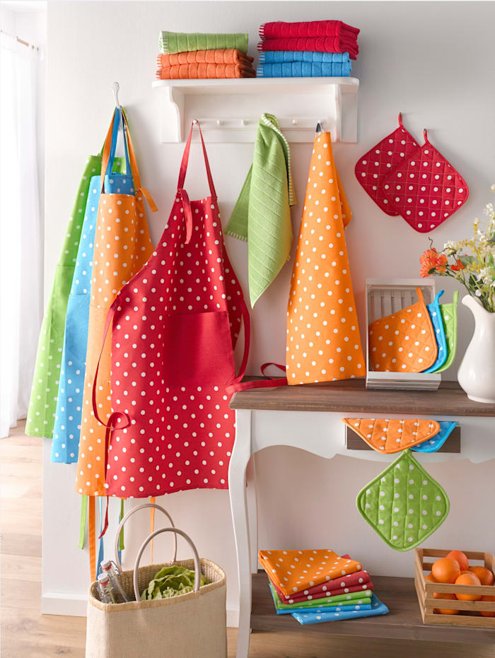 Kracht Kjøkkenhåndklær i 2-pk, blå