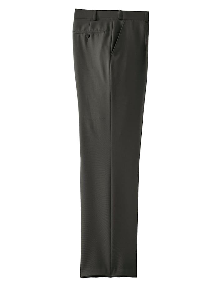 Pantalon à pinces à ceinture extensible