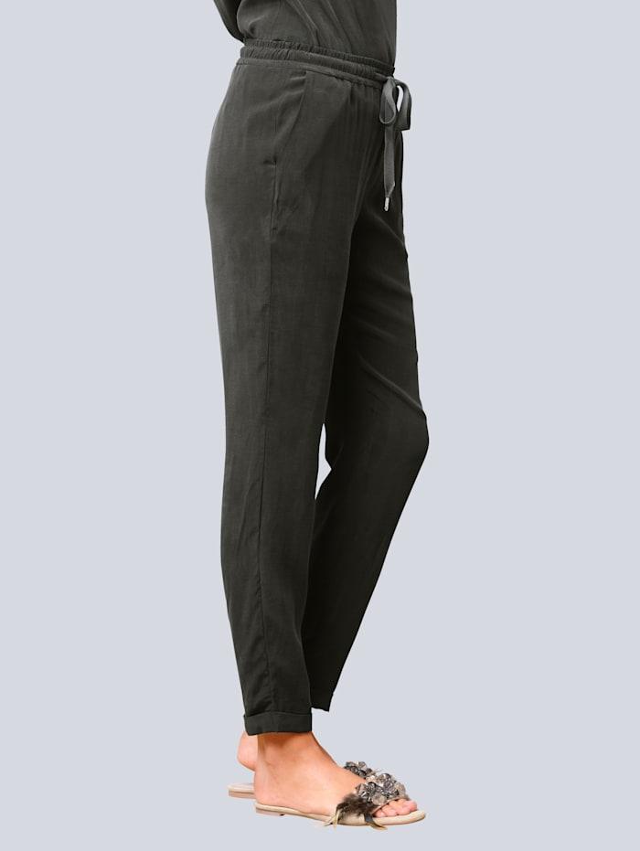 Broek in trendy jogpantmodel