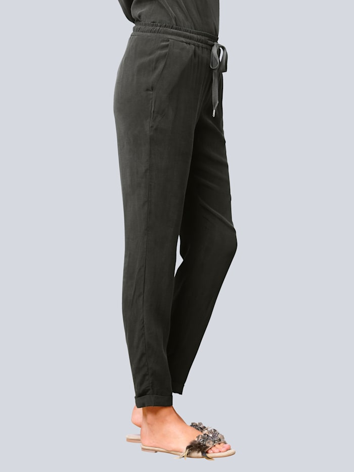 Hose in trendiger Joggpants-Form