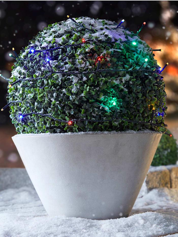 Star Trading LED-ljusslinga, flera färger, svart