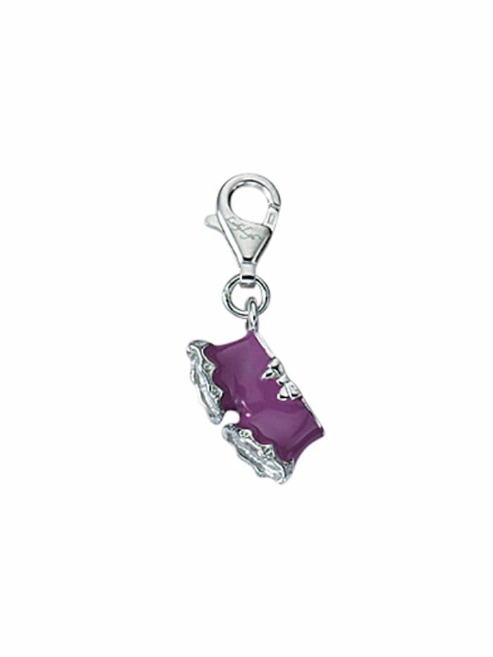 1001 Diamonds 1001 Diamonds Damen Silberschmuck 925 Silber Charms Anhänger, silber