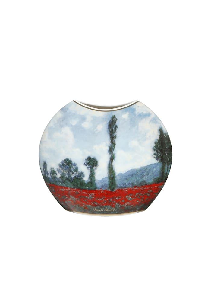 Goebel Goebel Vase Claude Monet - Mohnfeld / Tulpenfeld, Monet - Mohnfeld