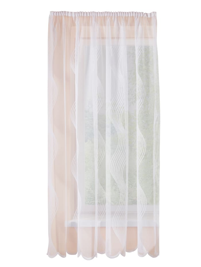 Webschatz Záclona Vlna, biela