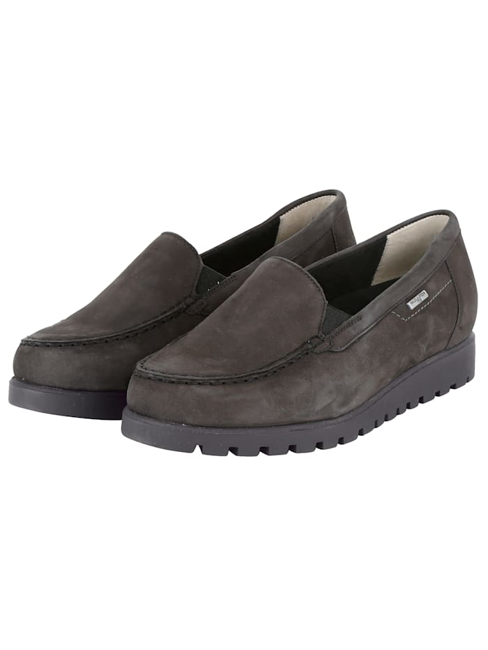 Waldläufer Loafers with water repellant Tex-Membrane, Grey