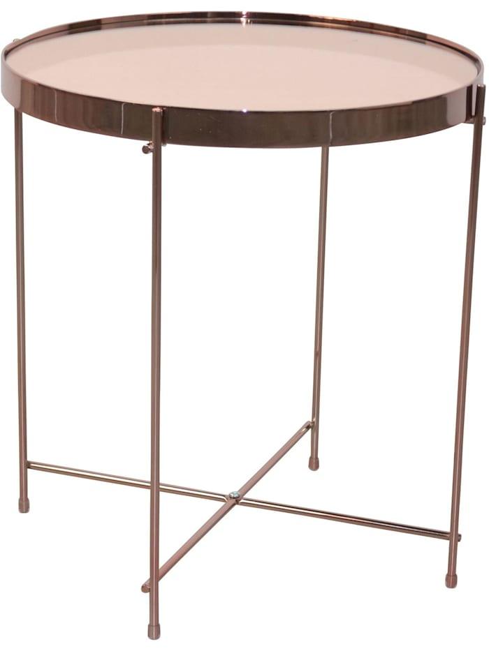 Möbel-Direkt-Online Beistelltisch Sabo, rosegold