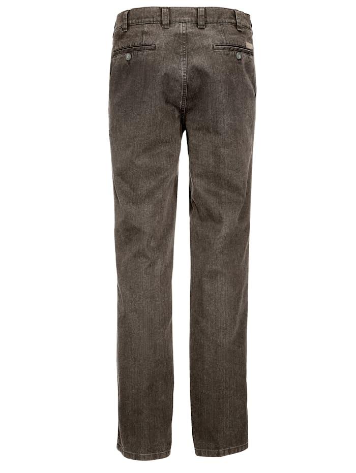 Džínsy o 7 cm dlhšia pásovka