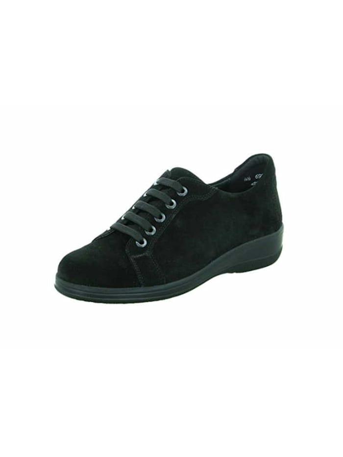 Solidus Schnürschuhe, schwarz