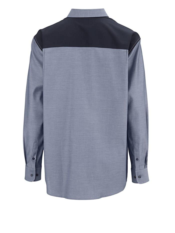 Spezialschnitt Hemd aus reiner Baumwolle