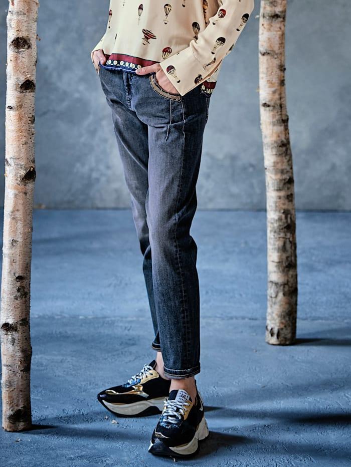 MAC Jeans, Blau