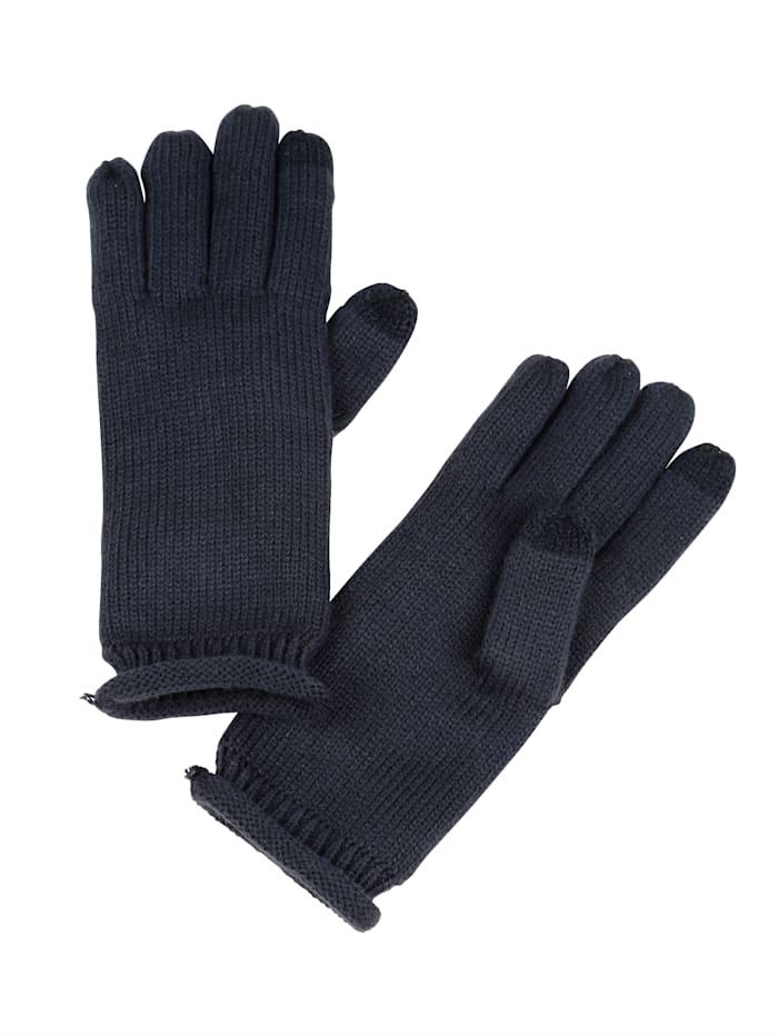 basically you Handschoenen Eén maat, marine