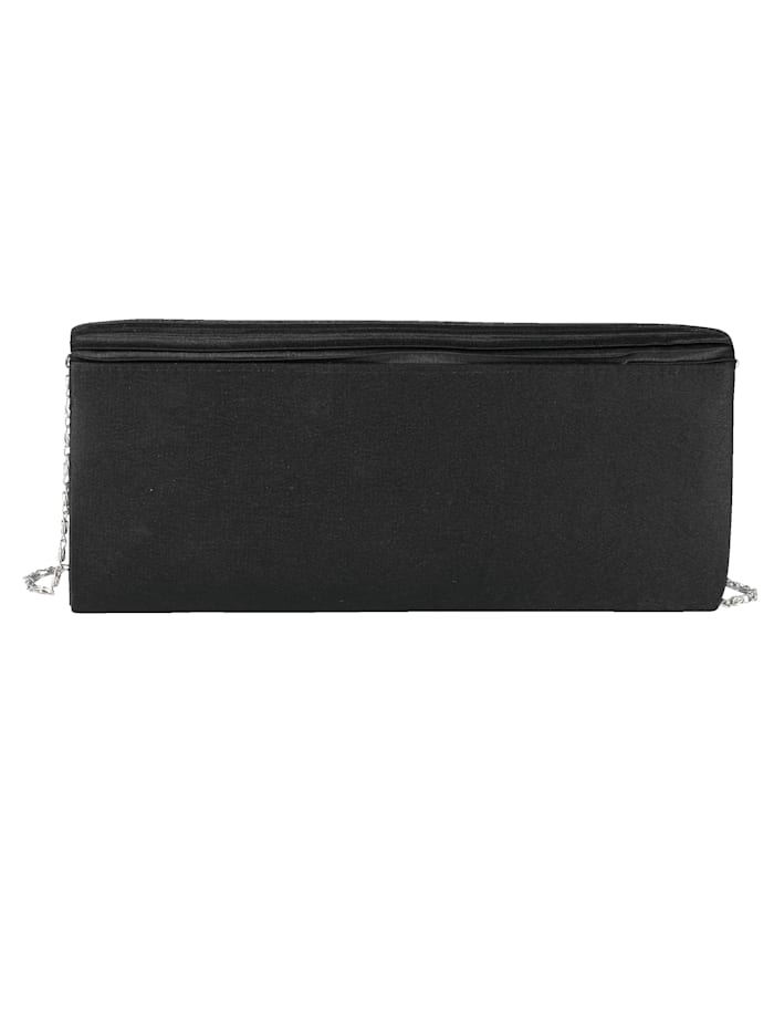 Clutch mit dezenter Raffung