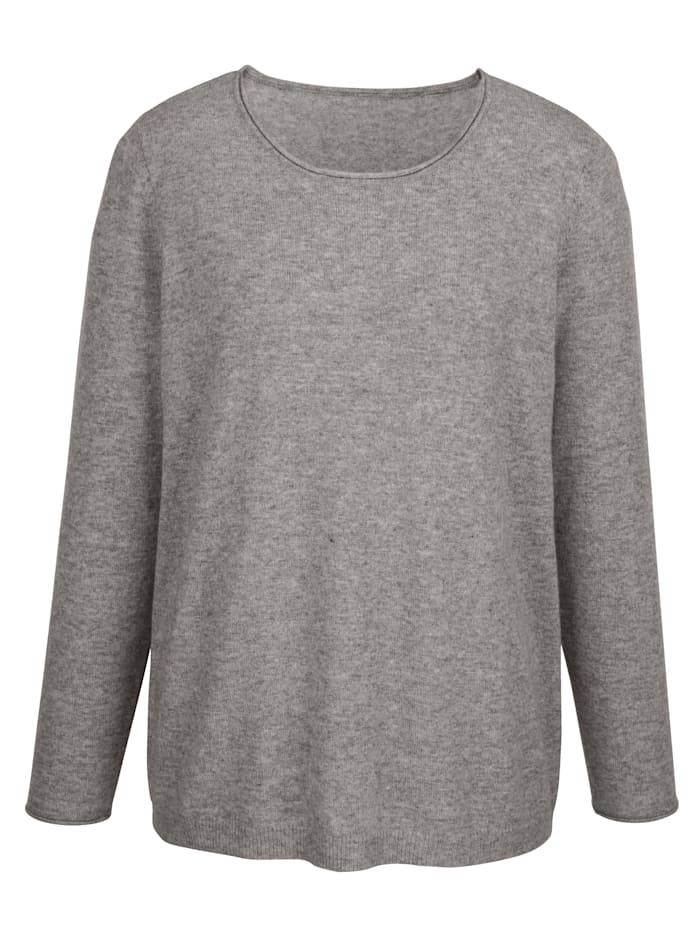Pullover in hochwertiger Wollqualität mit Kaschmiranteil