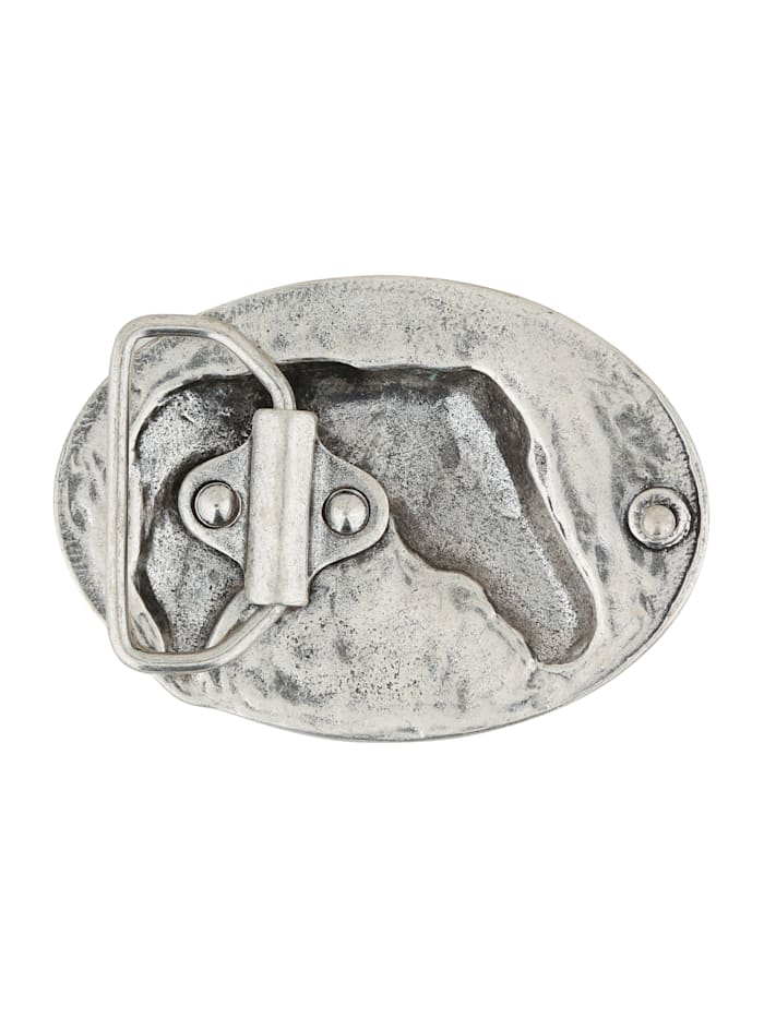 Wechselschließe Pferdekopf in ovaler Form