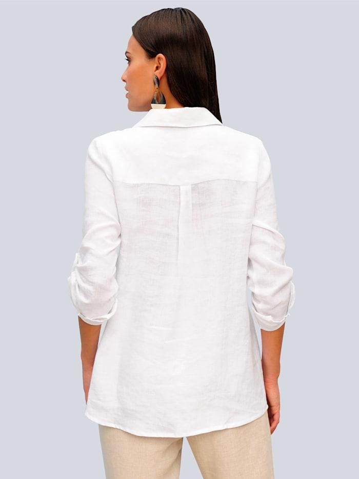 Pellavainen paitapusero