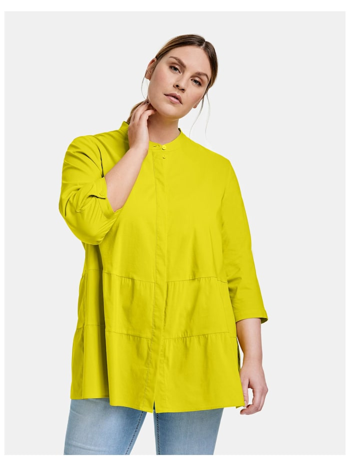 Ausgestellte Bluse aus Organic-Cotton