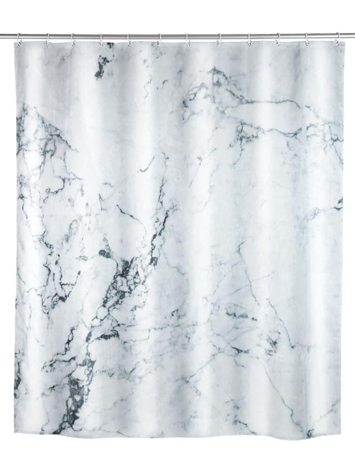 Wenko Duschvorhang Onyx, Textil (Polyester), 180 x 200 cm, waschbar, Mehrfarbig