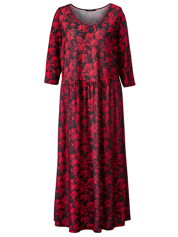 Maxi-jurk met bloemendessin