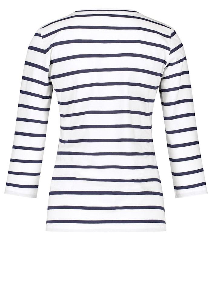 3/4 Arm Shirt mit Mustermix organic cotton