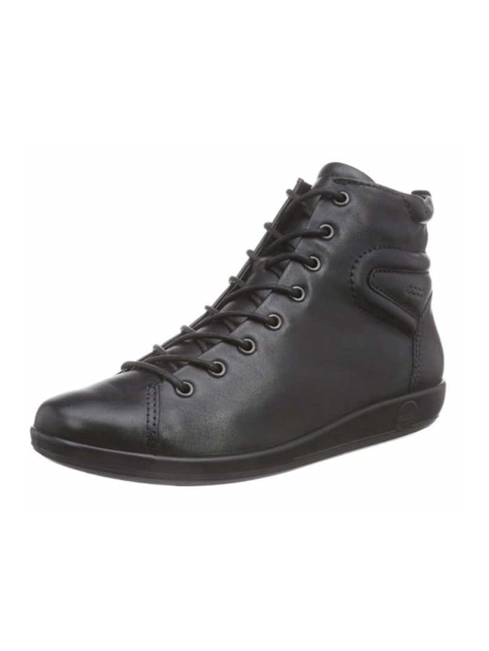 Ecco Damen Stiefelette in schwarz, schwarz