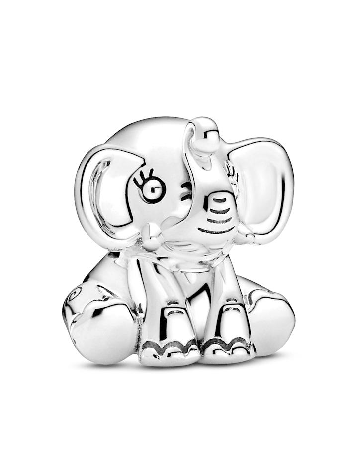 Pandora Charm - Ellie, der Elefant - 799088C00, Silberfarben